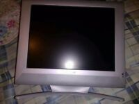 15'' LCD TV TELEVISION - NO REMOTE CONTROL - NO FREEVIEW -