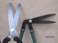Garden hand trimming tools