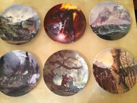 Collectible Lord of the rings plates and mugs