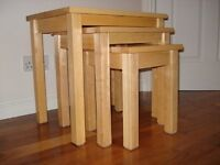 3 part nest tables for sale