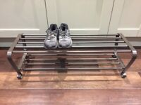 Metal shoe rack - free to collect