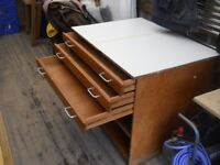 old architects drawers