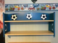 Football shelves
