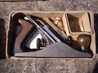 STANLEY BAILEY No3 HAND PLANE + STANLEY No 50 HONING TOOL .