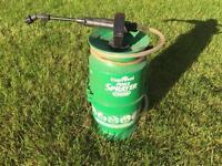 Cuprinol fence sprayer for wodden fences