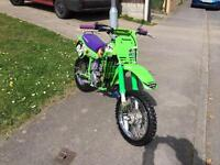 Kids Dirtbike MotoX KX60 AS NEW.UN-REAL CONDITION