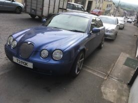 Jaguar SType 2004 October mot 23,03,19-swap or sale.