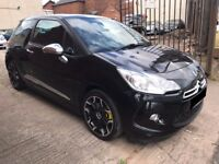 Citroen DS3 1.6 THP DSport 3dr - 2010, 12 Months MOT, Turbo 3 owners, Leathers, Stunning!