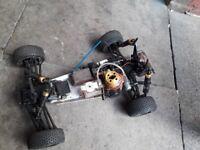 Kyosho remote control petrol rc car