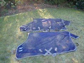 Turn out rugs (Rain Sheet)
