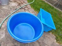 Koi carp bowl pond filter pond pump