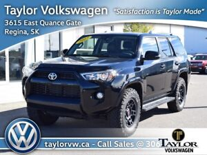 2017 Toyota 4Runner SR5 V6 5A Like New with Only 19,282 KMs Plus