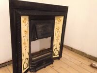 Beautiful Victorian Tiled Fireplace
