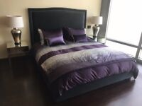 Super King Bed Frame & Mattress : almost new