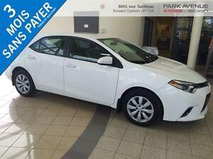 2015 Toyota Corolla BLUETOOTH, BACK UP CAM, SIEGE CHAUFFANTS*PRO