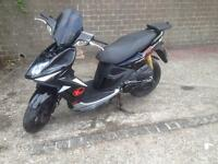 Kymco super8 125cc scooter(read add)