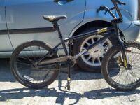 "Mongoose logo BMX ,20"" inch wheel full size"