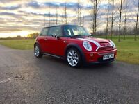 2004 Mini Cooper S 3dr Red / Supercharged Bargain !!