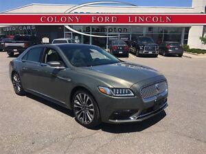 2017 Lincoln Continental LINCOLN COMPANY DEMO, 0.3% LEASE RATE!
