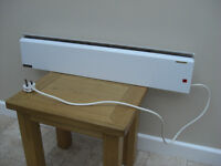 Prilect Skirting Heater, 600W single setting, wall mounting only.