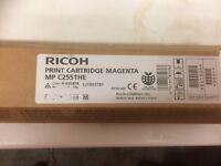 new Ricoh print cartridges