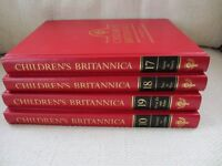 CHILDRENS' ENCYLOPEDIA BRITANNICA, complete 18 volumes + 2 indexes