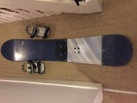 Nidecker 161 Snowboard with Bag