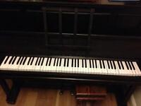 Churchil & Son upright piano