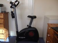Olympus Sport Exercise Bike with electronic programming function