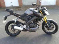 Yamaha MT, 125cc, ABS. 2016 plate, 1000 miles. £ 2000 ono