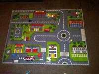 Car play mat and cars
