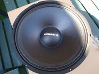 "TWO 12"" SPEAKER CHASSIS REPLACEMENT 250 WATTS RMS"