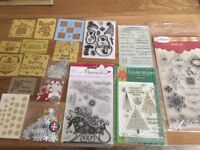 Craft stamps and stencils