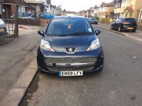 Peugeot 107 grey 1.0L 2010 very good condition cheap tax good for new driver
