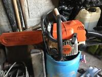 Ms180 Stihl Petrol chainsaw