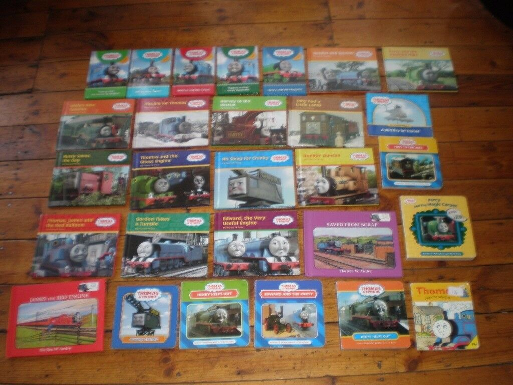 Thomas the Tank Engine Books Job Lot (ideal for bootsale/nursery school)