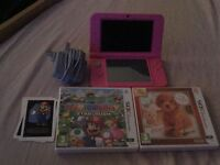 Nintendo 3DS XL Pink Brand New Boxed