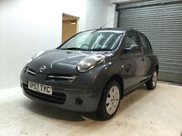 2007 NISSAN MICRA 1.2 4 DOORS FULL YEAR MOT FULL NISSAN DEALER SERVICE HISTORY 2 KEYS GREAT DRIVE