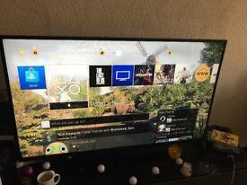55 inch Full HD Thomson television - Black (No Box)