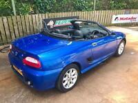 2004 mg tf convertible full years mot