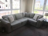 Corner Sofa, right hand (like new)
