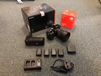 Sony A7 full frame camera with 50mm f1.8 lens may swap/px