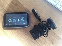 TomTom GO 500 Sat Nav GPS Full Europe and UK Maps - Complete - Large 5 Inch Display - Only £80