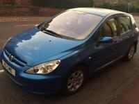 PEUGEOT 307 S 5DOOR HATCHBACK 2003. CHEAP