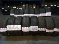 "BRANDED 18"" NEW & AS NEW PERFORMANCE TYRES FROM £40-£50 loads more txt tyre size for price & av"