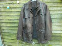 John Rocha leather jacket