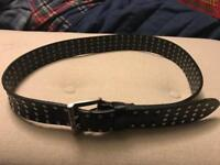 David Mayer Naman Italian leather belt