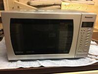 Panasonic combination microwave stainless steel