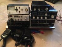 CB RADIO & SCANNER MEGA BUNDLE (all working) some with boxes. Transceivers, burner, mics BARGAIN