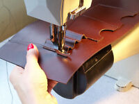 Freelancer sewing machinist, leather goods, upholstery, etc.